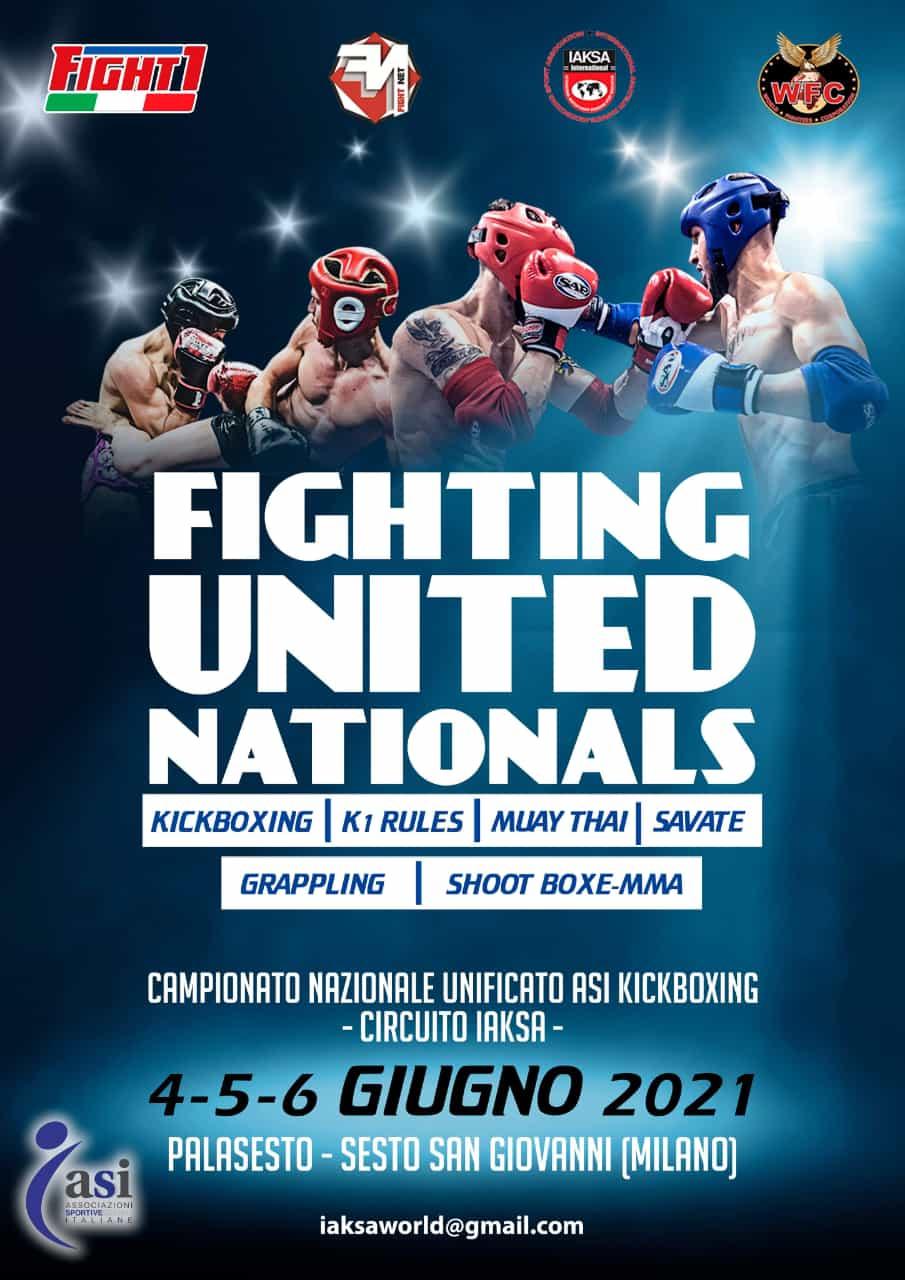 FIGHTING UNITED NATIONALS Palesto – Sesto San Giovanni (MILANO) 4-5-6 giugno