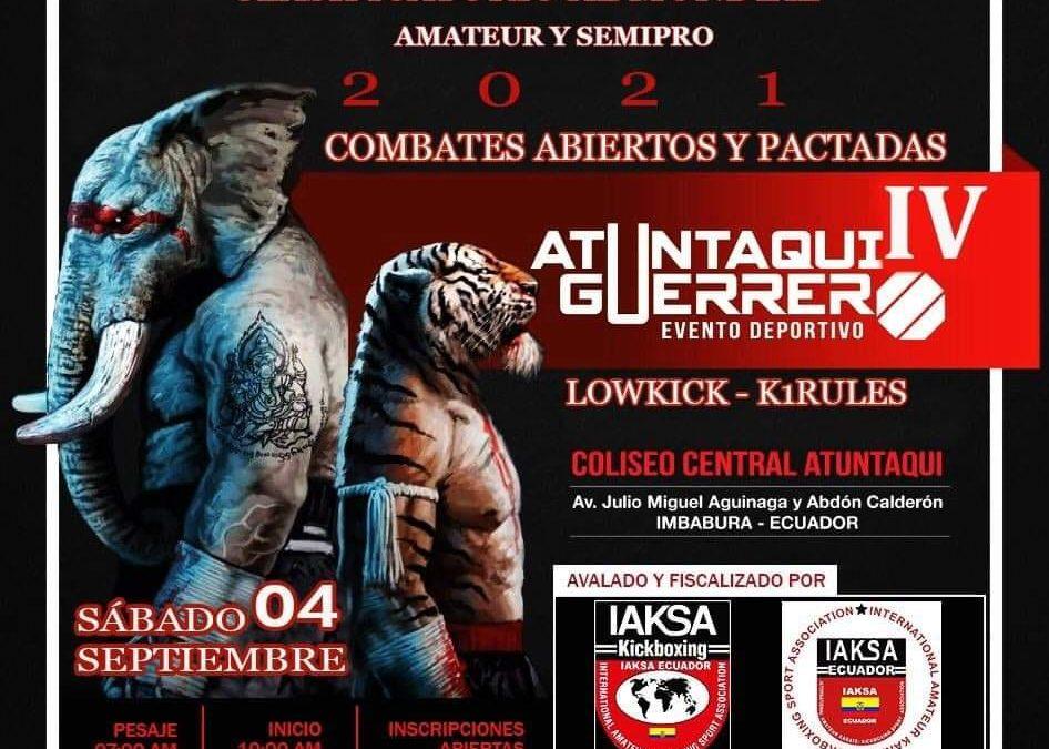 Iaksa International – ECUADOR – Atuntaqui Guerrero IV